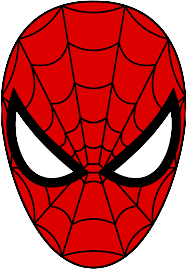 Spiderman Mask PNG
